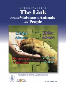 Understanding the Link between Violence to Animals and People - cover